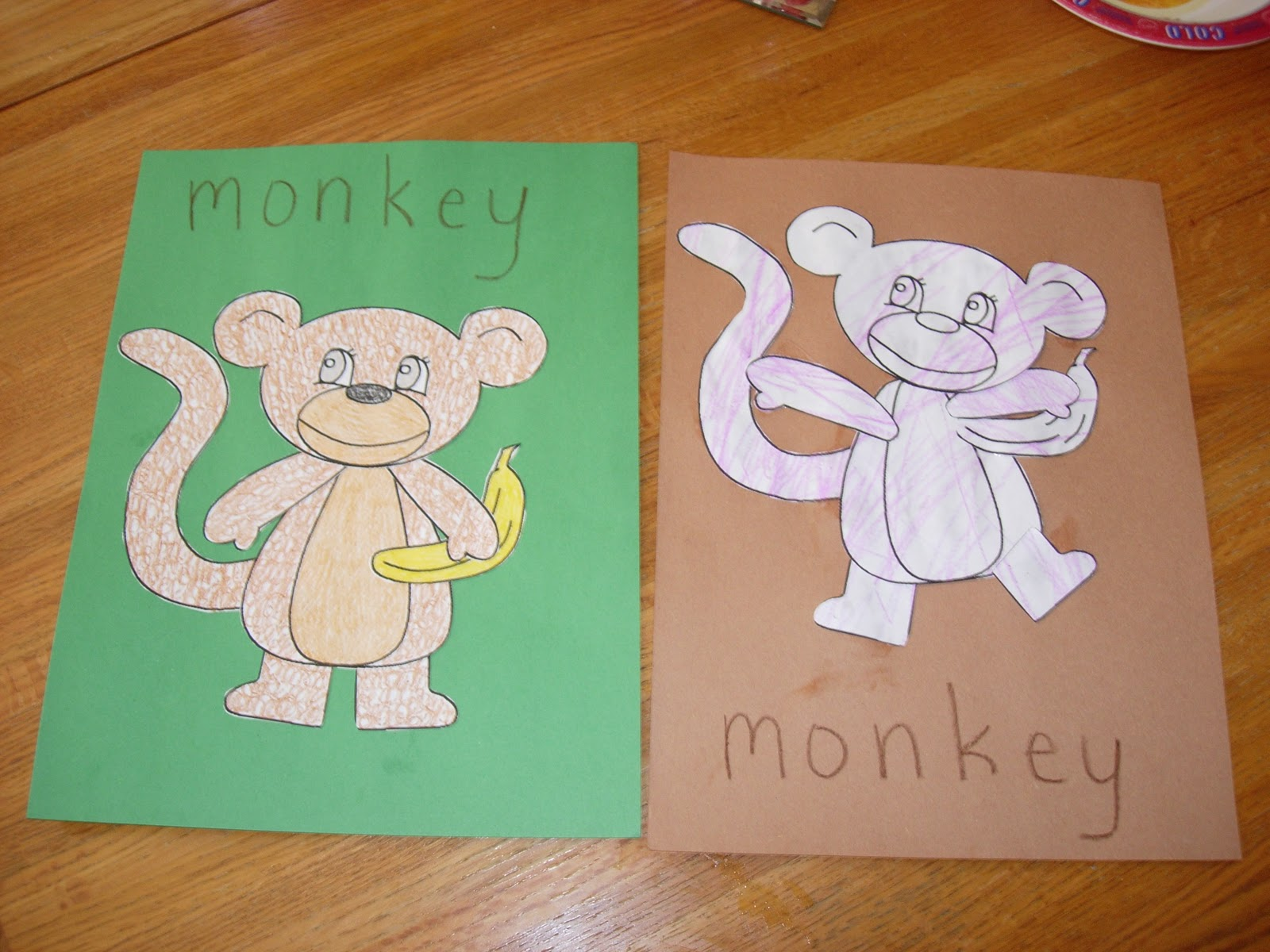 Lil Sprouts Preschool M Is For Monkey