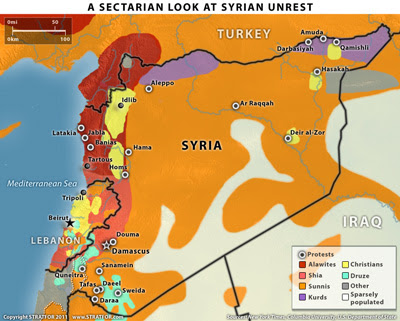 A sectarian look at Syrian unrest