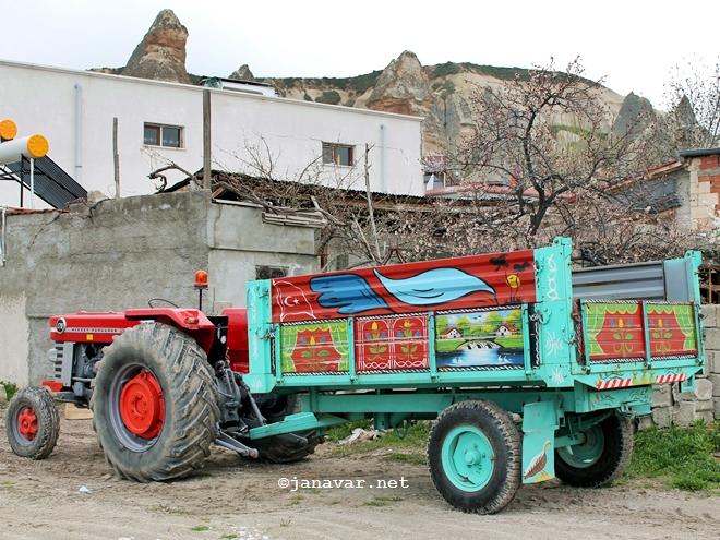 Tractor in Göreme, Cappadocia