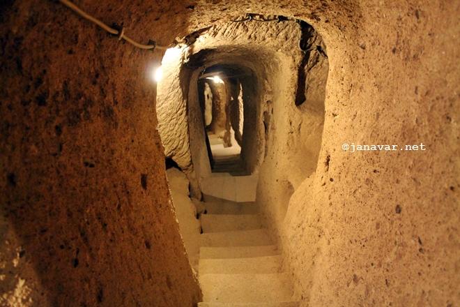 Underground City, Kaymakl, Derinkuyu, Cappadocia