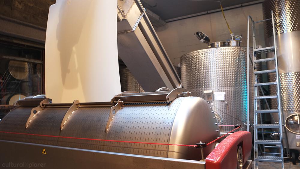 Wine Press Brooklyn Winery