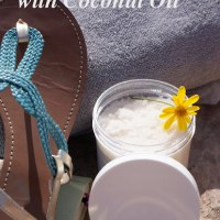 Vanilla Sugar Scrub with Coconut Oil