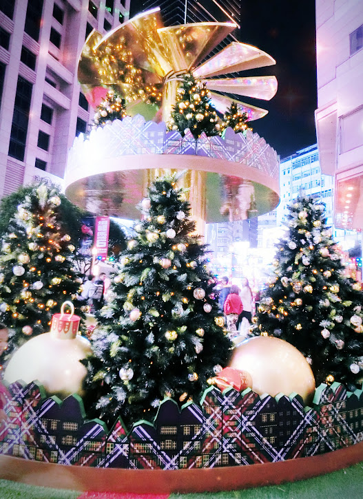 香港的聖誕節實在是太美麗了啦~~~ (2014年)