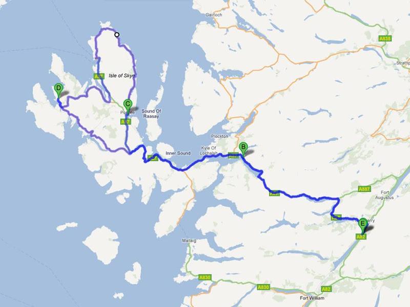 34 – Passeando até à Escócia – Ilha se Skye… passeando pelo paraíso! (1/6)