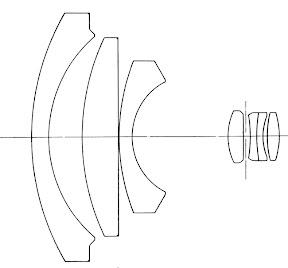 Objetiva prime grande angular Carl Zeiss Jena Flektogon 1Q