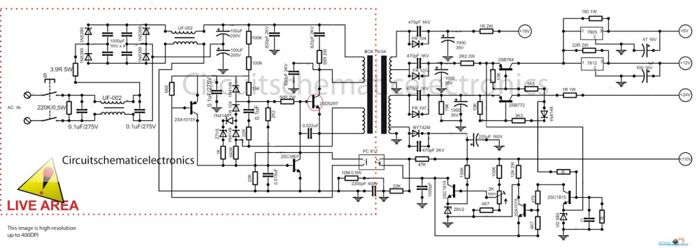 medium resolution of tv power schematic wiring diagram files led tv power supply schematic tv power schematic