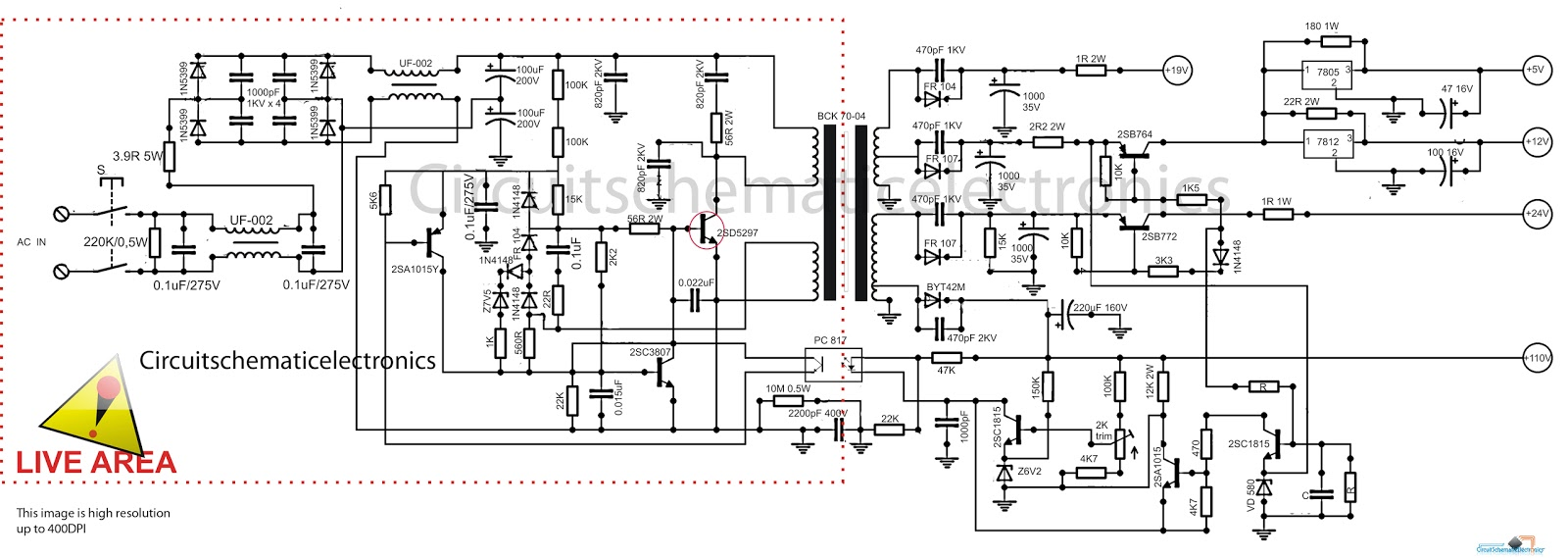 hight resolution of tv power schematic wiring diagram files led tv power supply schematic tv power schematic
