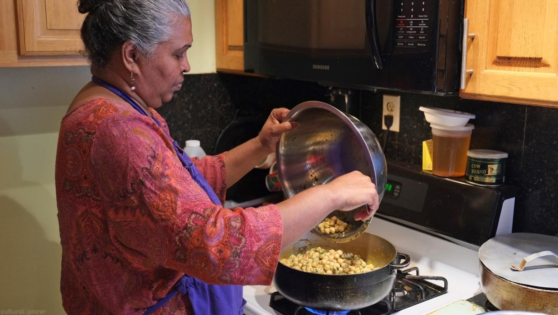 Chana and Aloo League of Kitchens