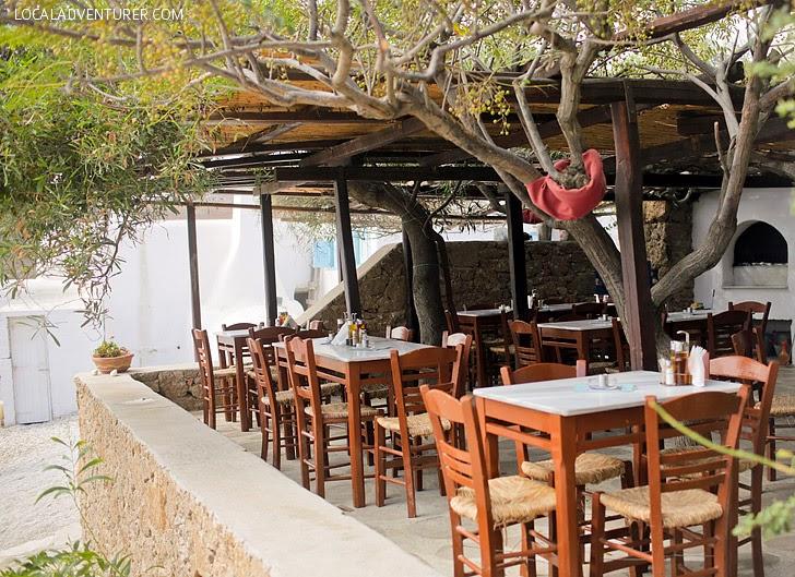 Kiki's Mykonos - Best Food in Greece.