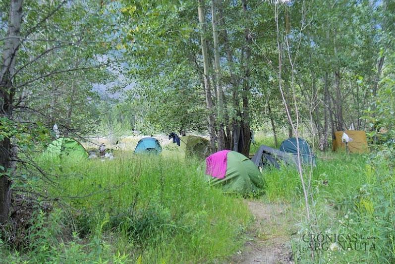 trabajar en canadá y dormir en el camping de keremeos