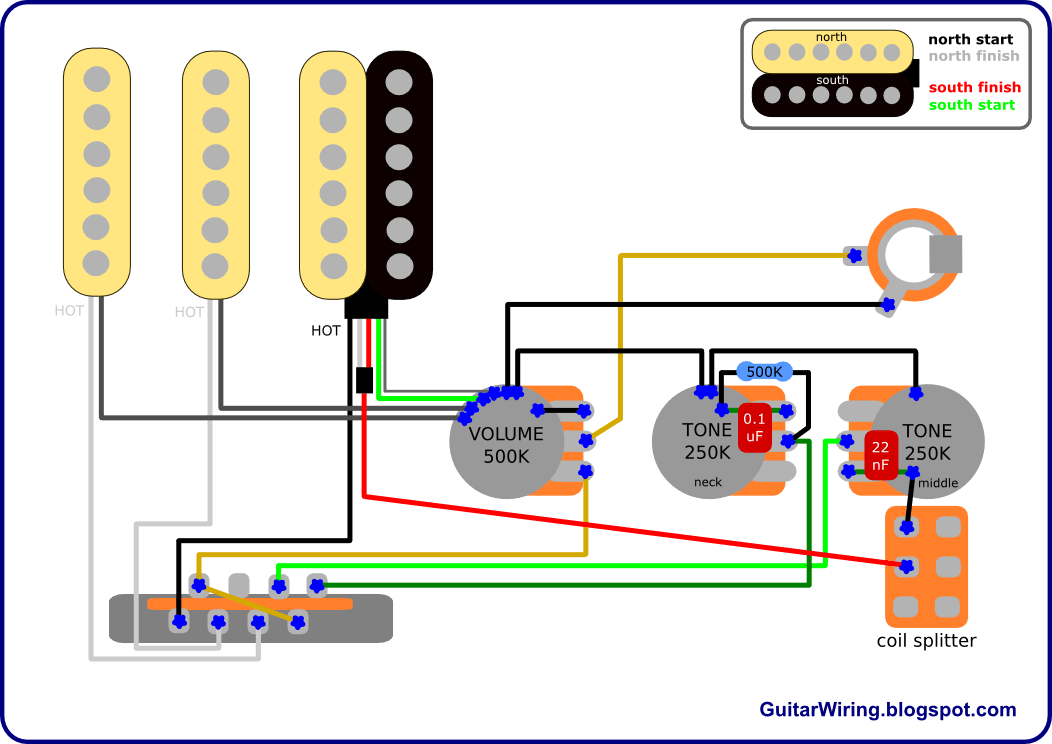 fender hss stratocaster wiring diagram vw beetle 1976 the guitar blog - diagrams and tips: march 2011