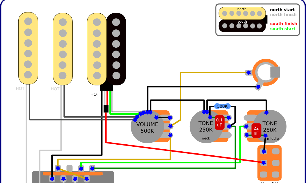 fender strat 3 way switch wiring diagram daikin split system the guitar blog - diagrams and tips: fat mod (fender + charvel)