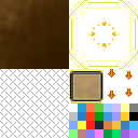 Leather-and-Gold Variation #1 Windowskin | RMVX/VXA