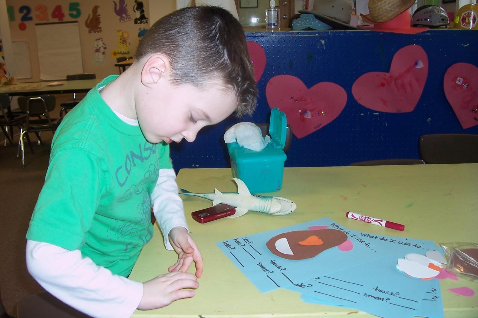 Mrs Amy S Preschool Class Taste It Touch It See It