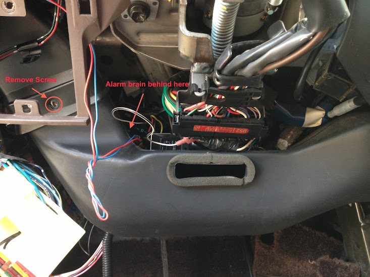 2007 Ford Mustang Fuse Panel Diagram How To Install Aftermarket Alarm On 1994 Ih8mud Forum