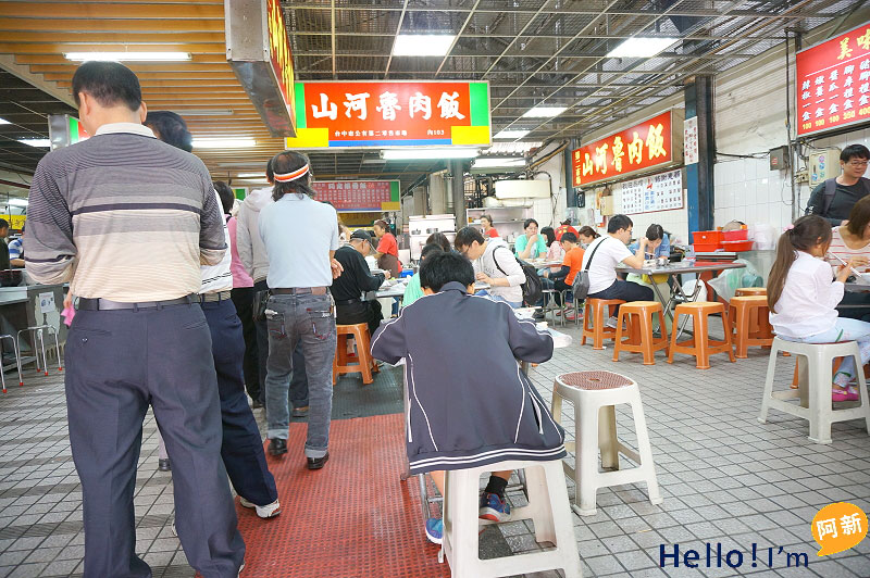第二市場美食,山河魯肉飯-2