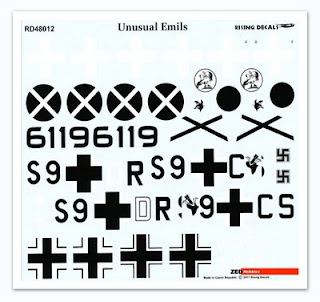 ZED Hobbies: Review: Rising Decals Unusual Emils 1/48