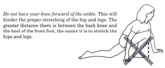 hips and leg stretch