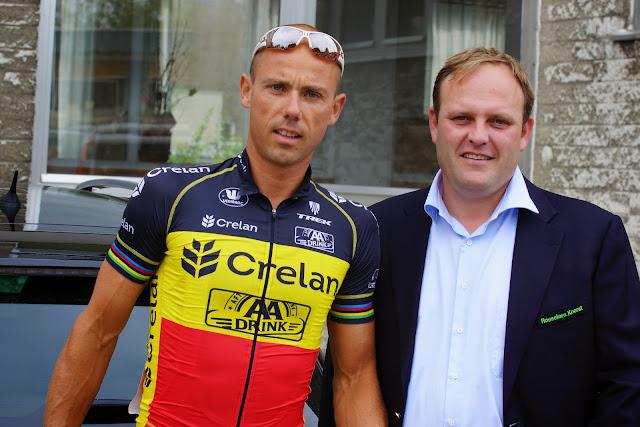 Sven Nys en Bjorn Gevaert