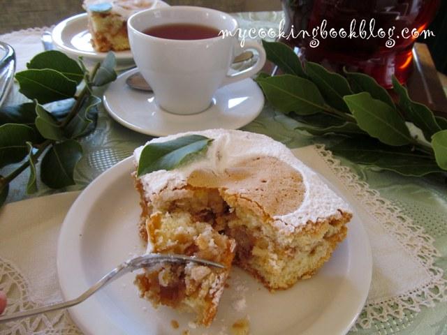 Милопита (Μηλόπιτα) или Ябълков сладкиш