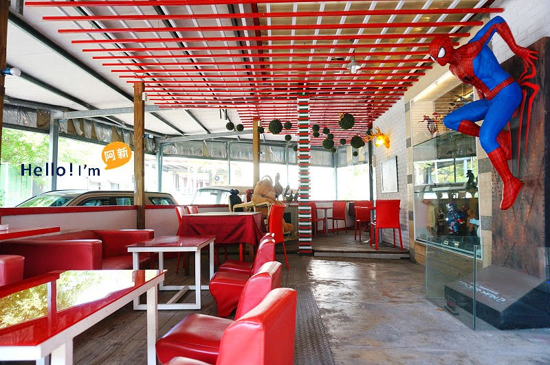 台中公仔主題餐廳.異想空間餐廳-4