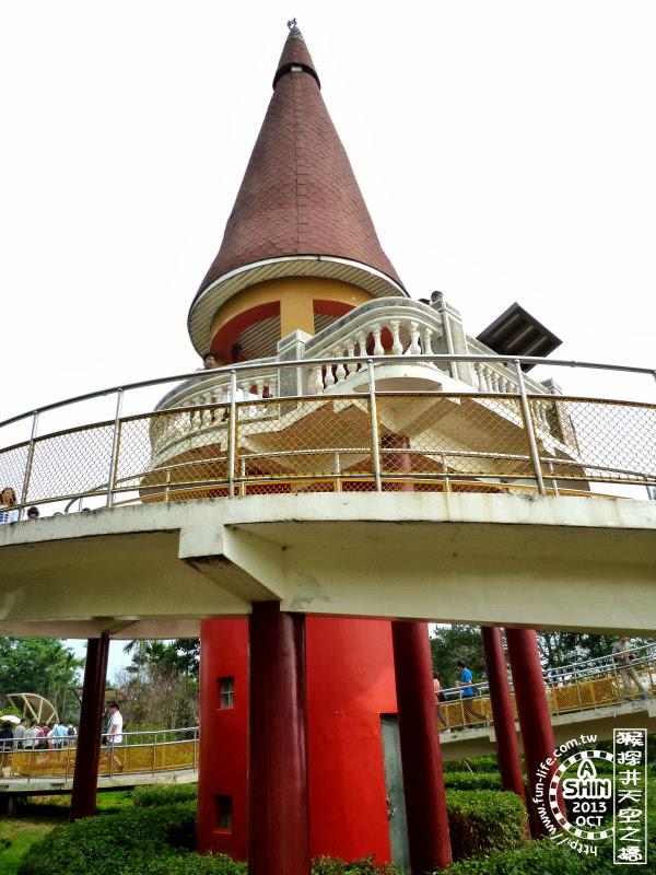 城堡狀高塔-猴探井天梯