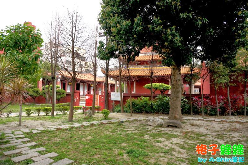 格子綠綠藝文庭園餐廳|逛完彰化孔子廟,就來旁邊的格子綠綠藝文庭園餐廳歇歇腳吧!