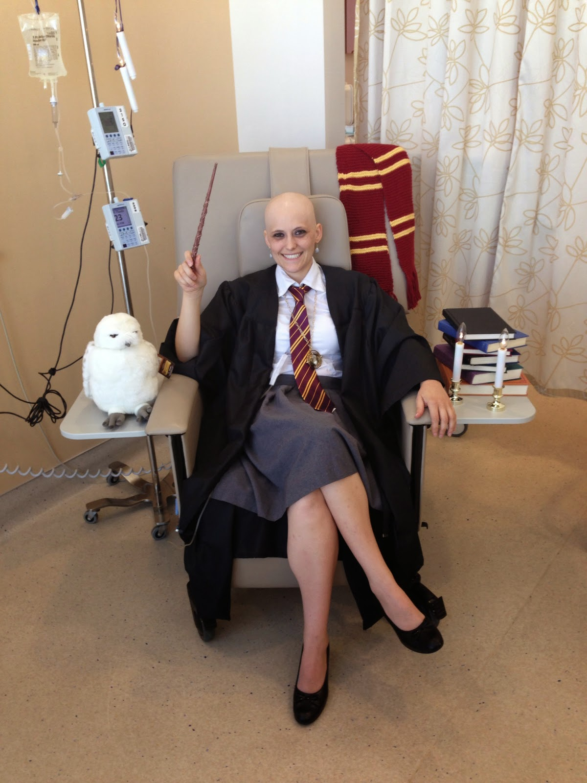 swing chair au stand up desk high monkey on a tire swing: my sixth chemo costume: happy birthday, harry potter!