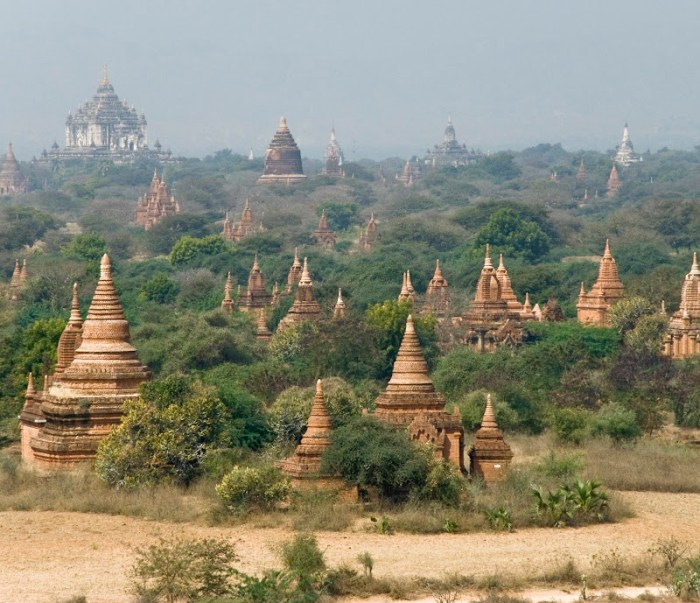 The temples of Bagan in Myanmar