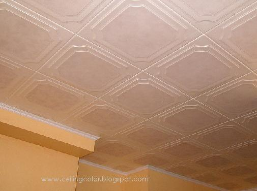 Colored Ceiling Tiles  Ceiling Color