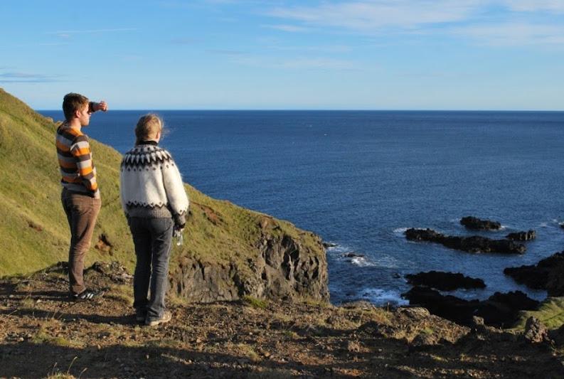 Viajar a Islandia para ver paisajes como este