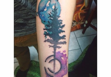 70 Outstanding Watercolor Tattoo Designs Ideas