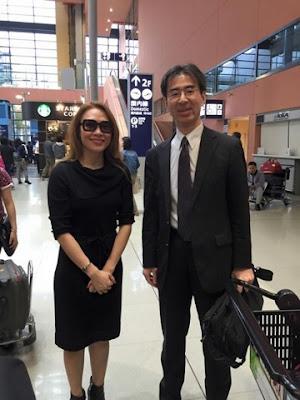 Ca sỹ Mỹ Tâm đến Osaka Nhật Bản biểu diễn
