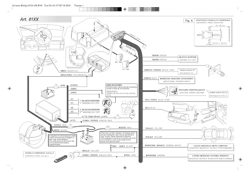 car alarm system wiring diagrams 2003 honda civic stereo diagram installation service manual eaglemaster schematics viper alarms