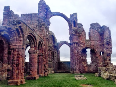 north east family fun visit lindisfarne holy island in northumberland