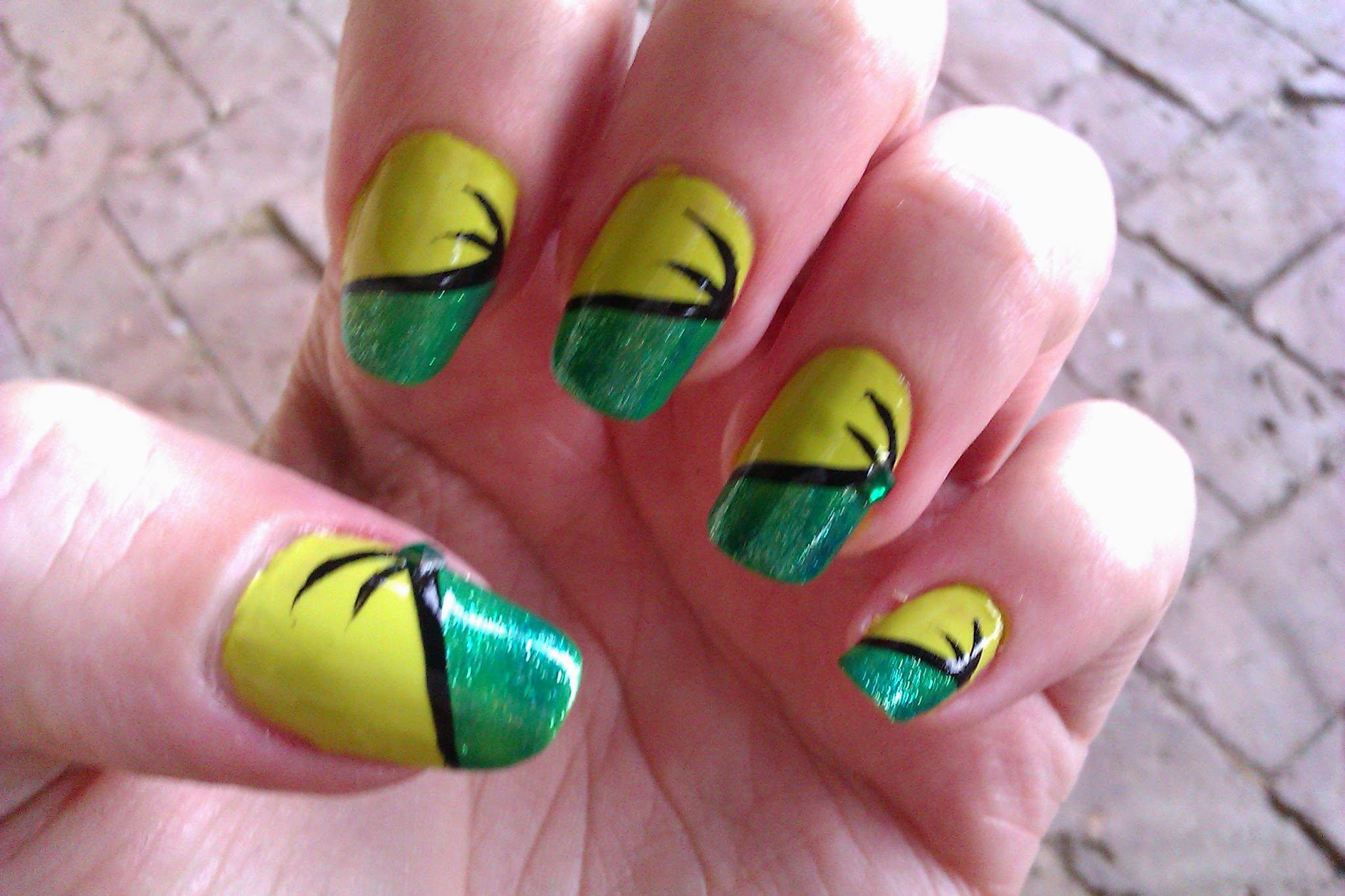 Nail Art Design Step By