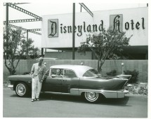 Original Disneyland Hotel 1957 Car