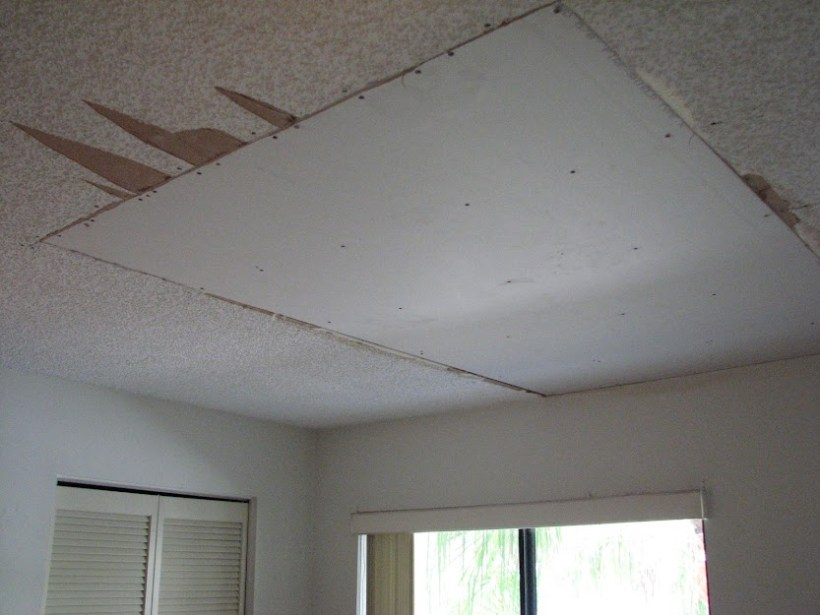 Can You Drywall Over Popcorn Ceiling Www Energywarden Net