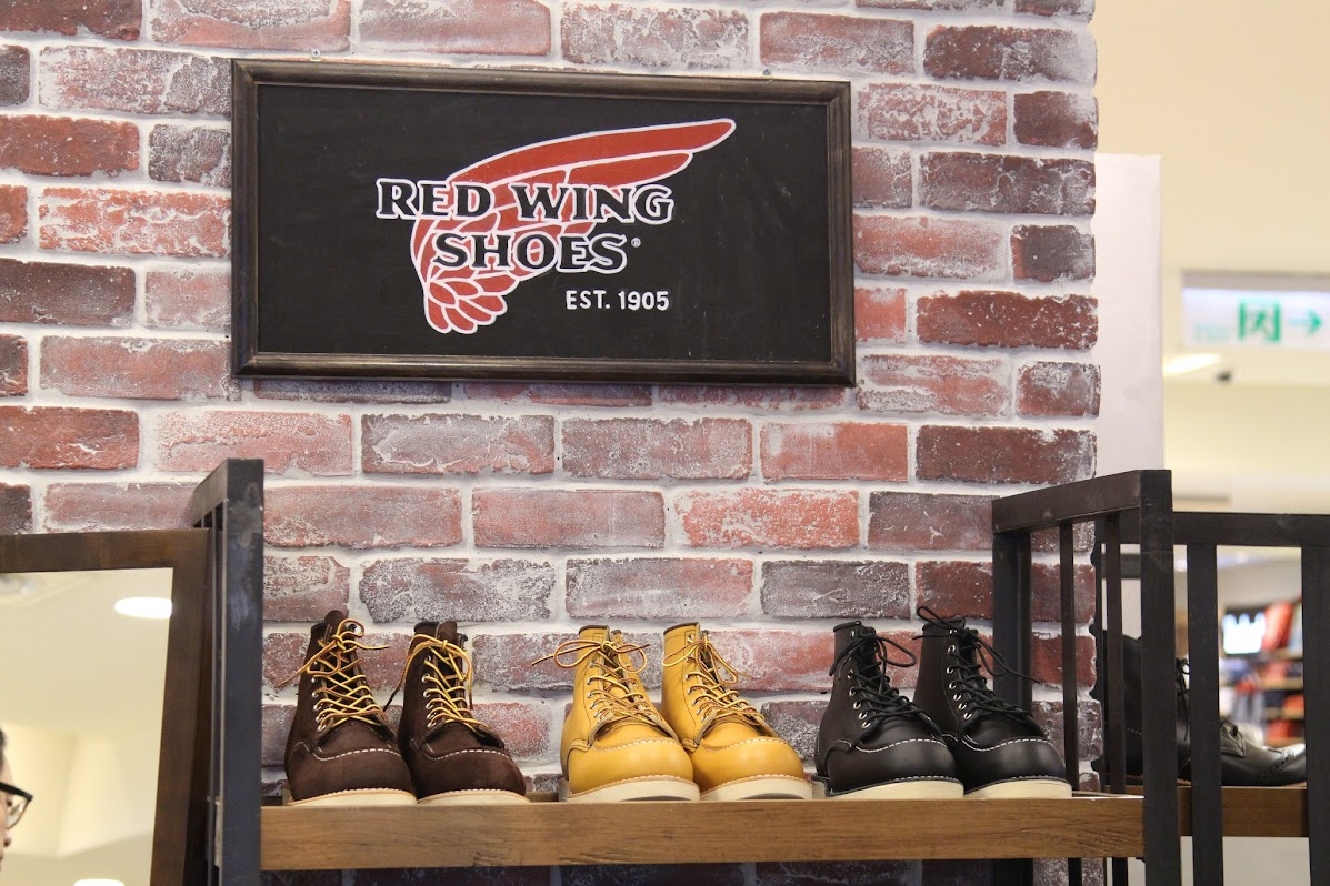 *RED WING SHOES:正式進駐忠孝SOGO! 1