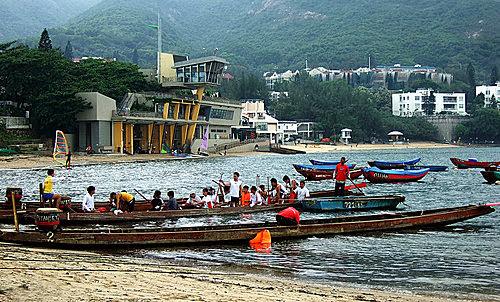 L J 的光影紀錄: 赤柱二灘-風帆基地