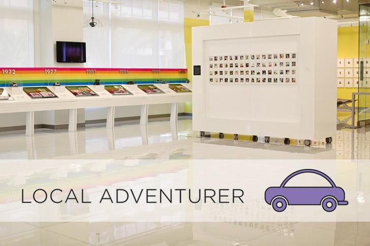 Local Adventurer at the Polaroid Museum and Polaroid Fotobar Las Vegas.