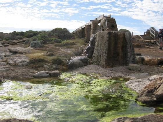 Cape Leeuwin petrified waterwheel - Cape to Cape Track