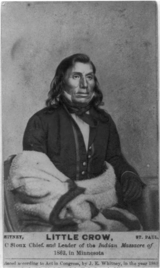 Mdewakanton Dakota Chief Taoyateduta (or Little Crow). (Library of Congress Prints and Photographs Division Washington, D.C.)