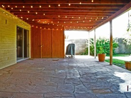 homes for sale in Scottsdale AZ showcases this huge patio