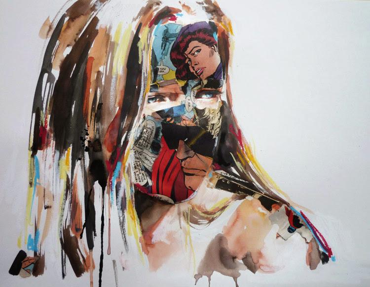 *另類的方式閱讀超級英雄:SANDRA CHEVRIER 畫出女性的英雄情節 11