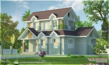 Kerala House Exterior Design