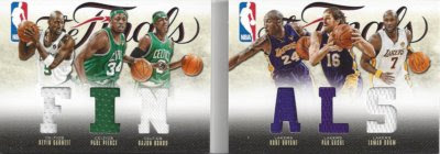 12/13 Panini Preferred Finals Book Jersey Card