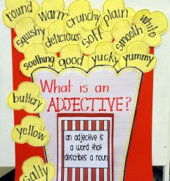Let's Get Poppin' with Adjectives {First Grade Adjective Activity} -  Babbling Abby [ 1600 x 1200 Pixel ]