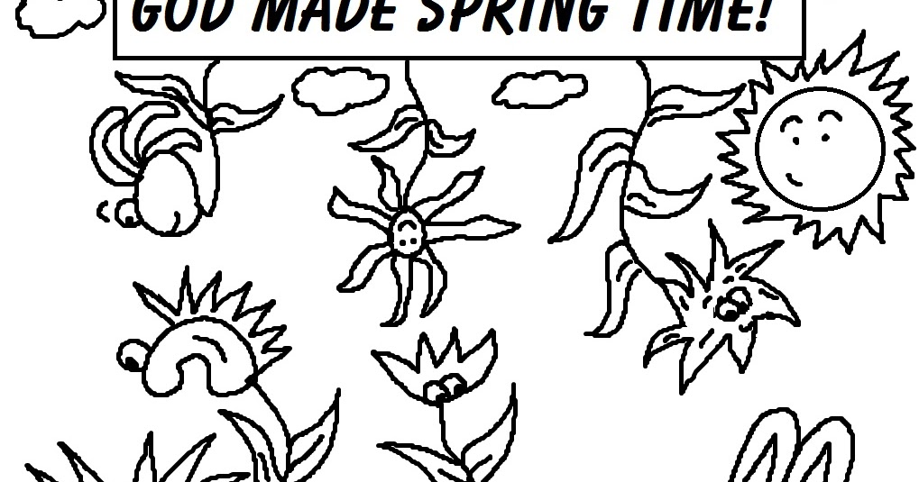 Church House Collection Blog: Spring Time Coloring Pages