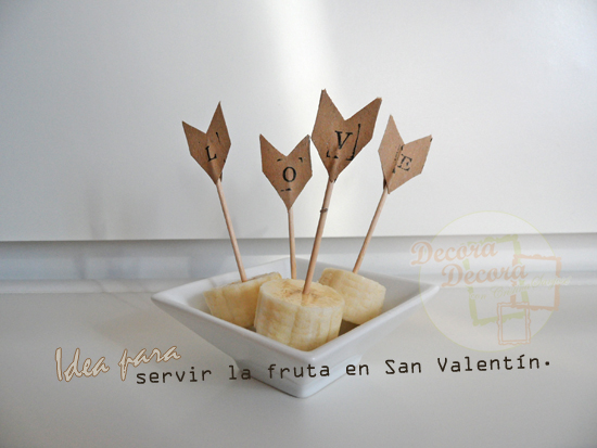 Idea 9 para decorar en San Valentín